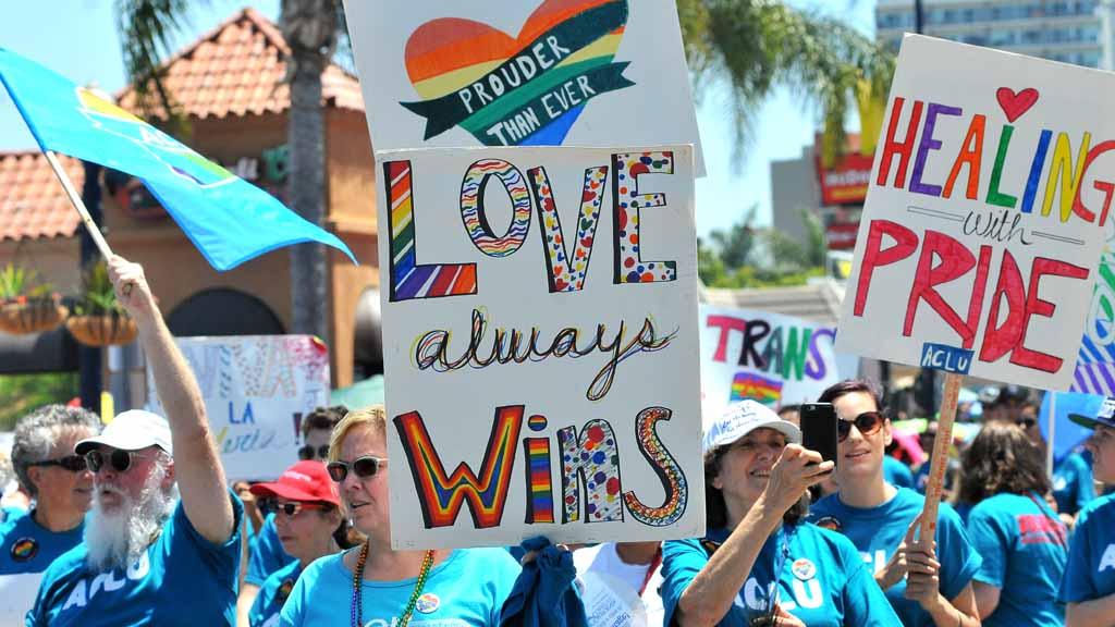 Gay pride festival san diego