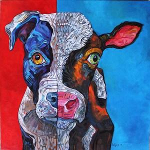 dana-ellyn-painting-dog-calf